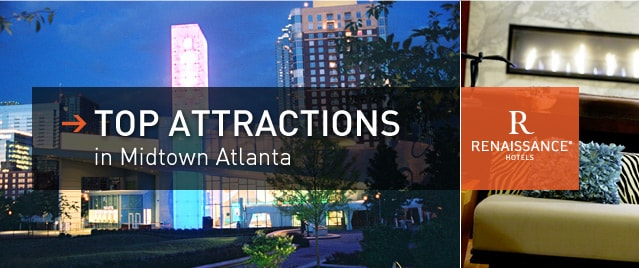 Midtown Hotel Near Georgia Aquarium Top Attractions