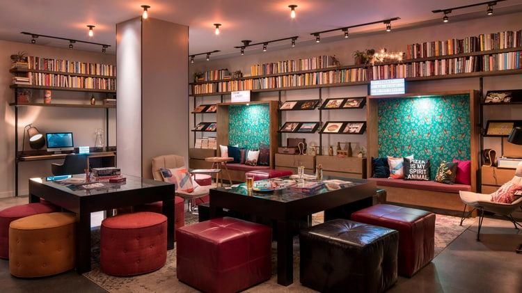 Moxy the library