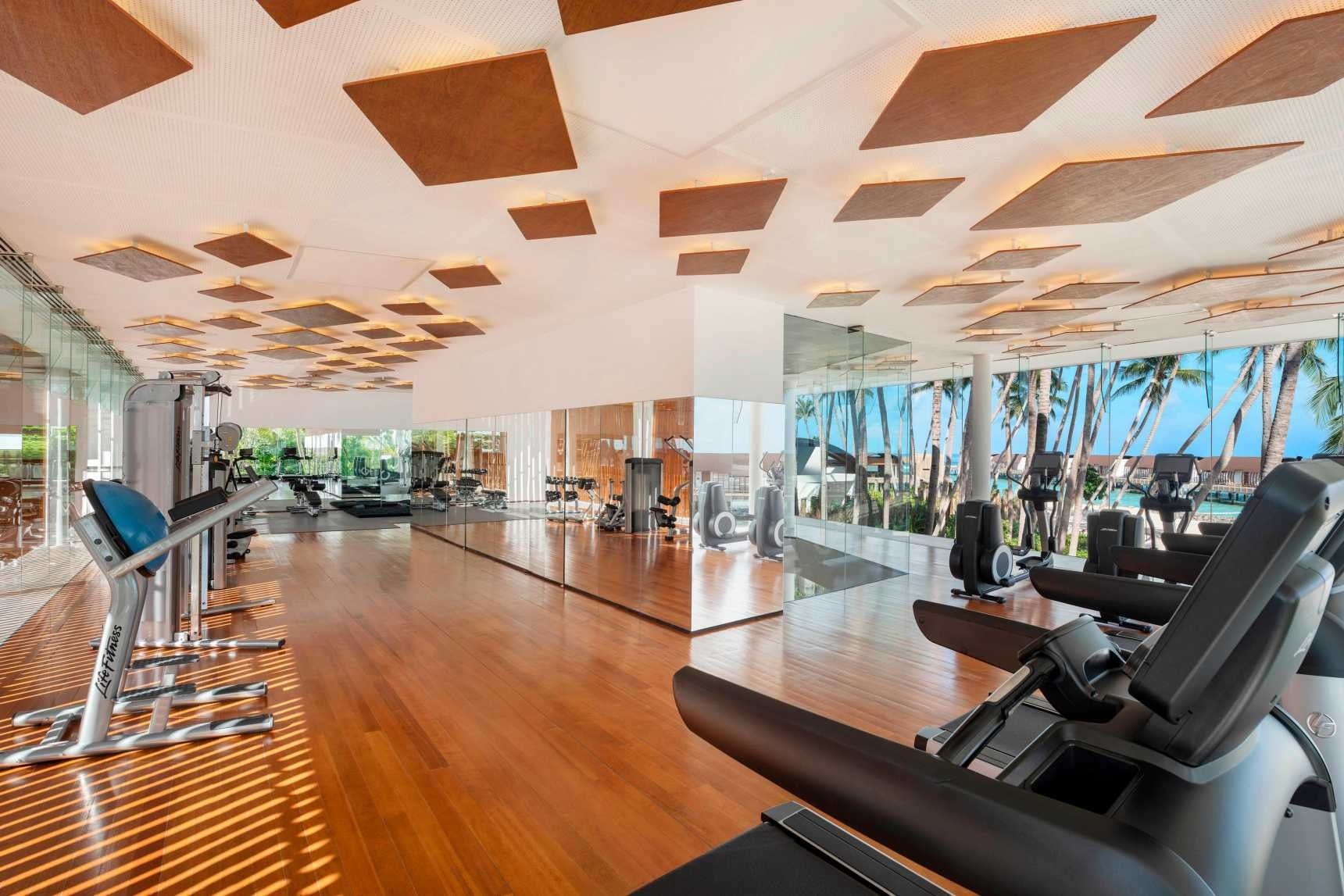 westin workout interior view