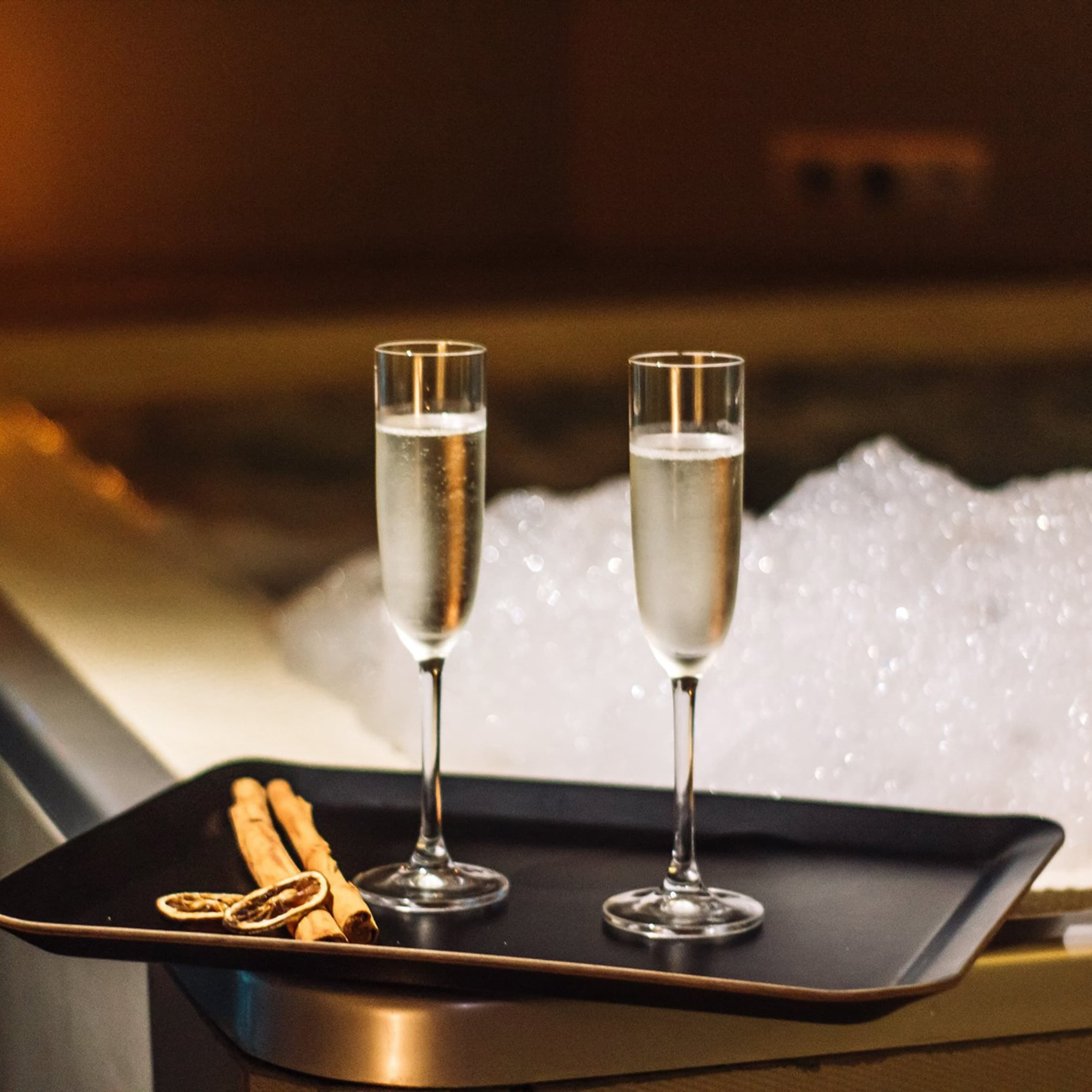 Aperitivo in the Spa