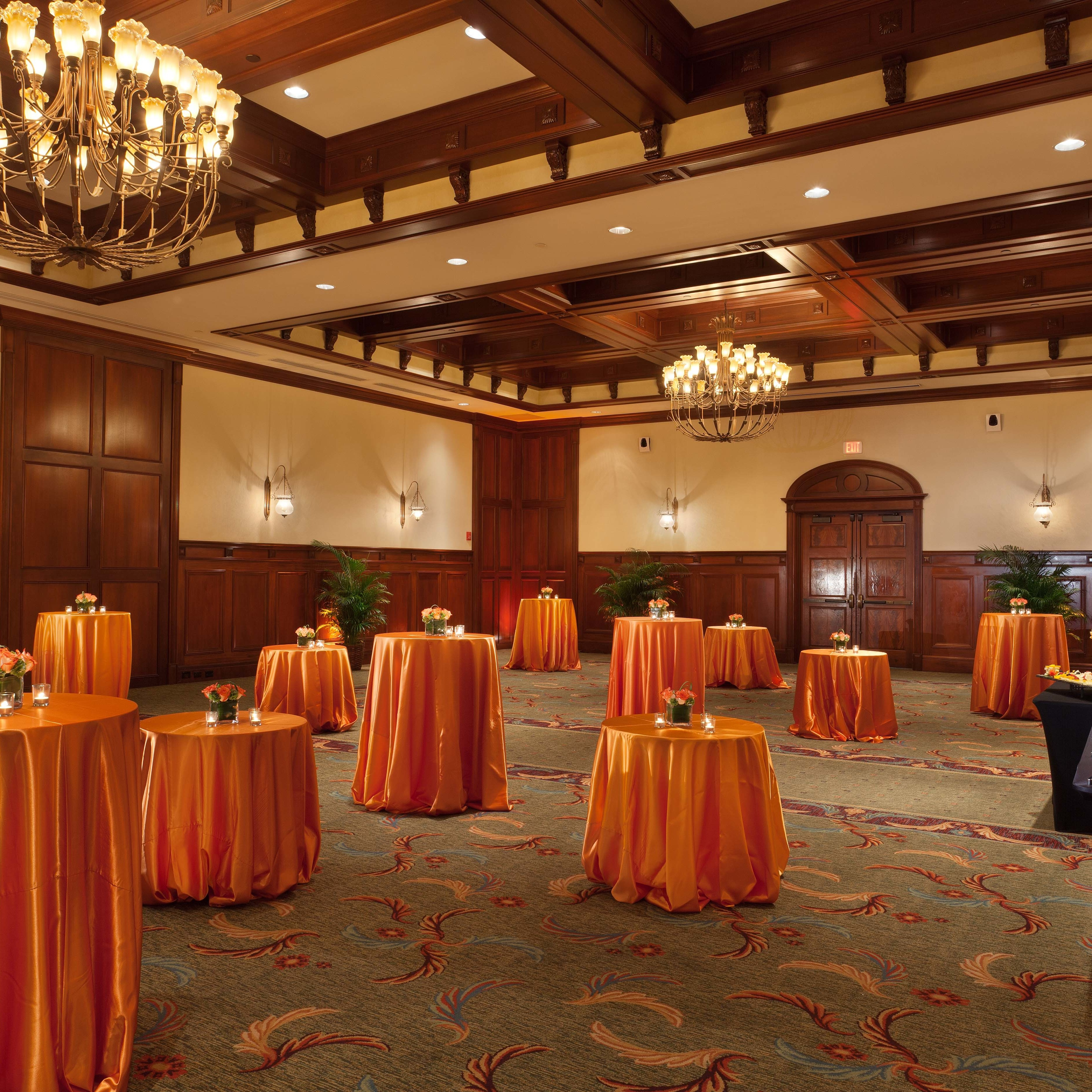 Grand Ballroom – Social Event Set-Up