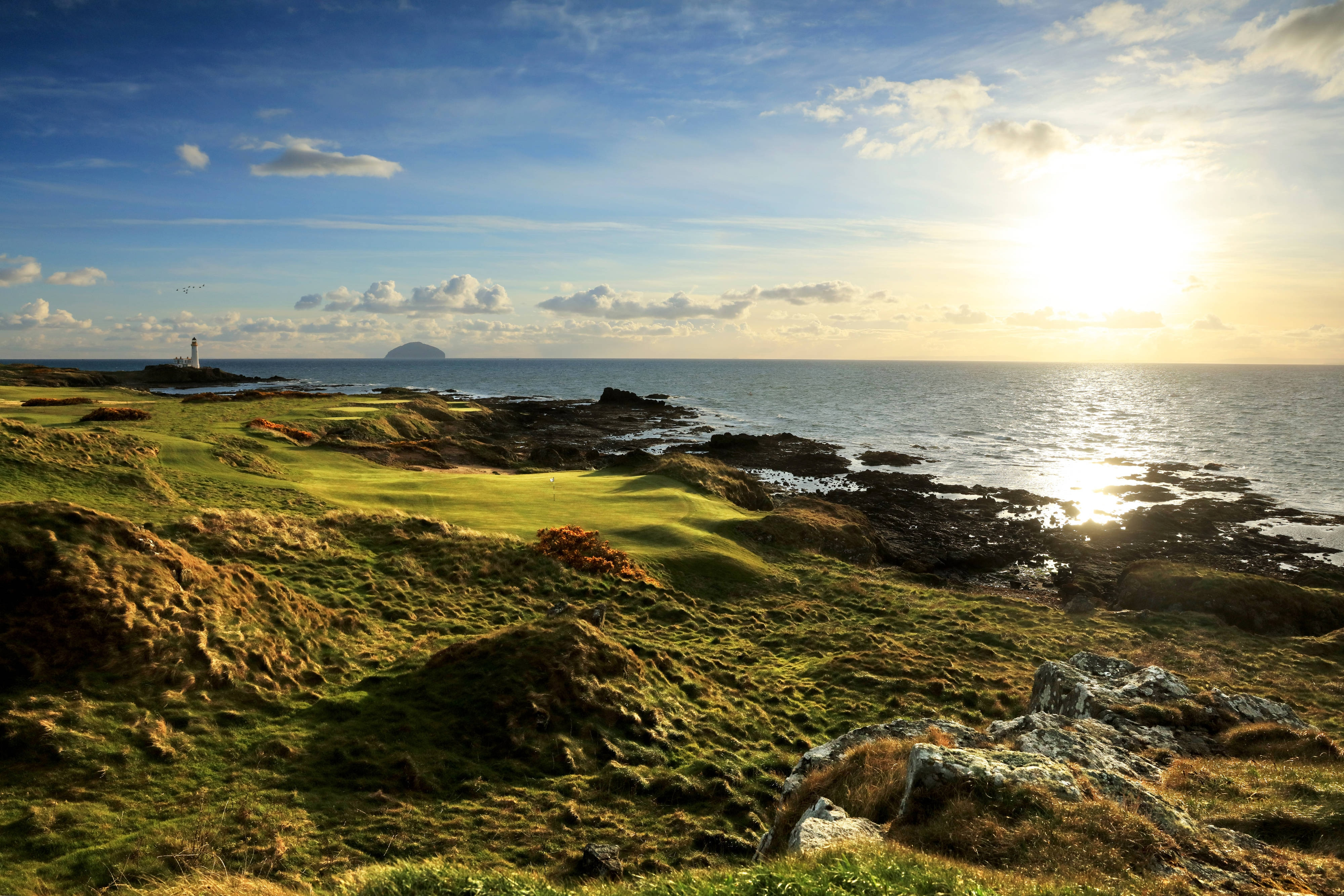 The 11th hole of the Ailsa Course
